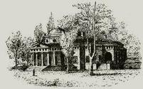 Martha Jefferson Monticello Sketch  - © Stan Klos