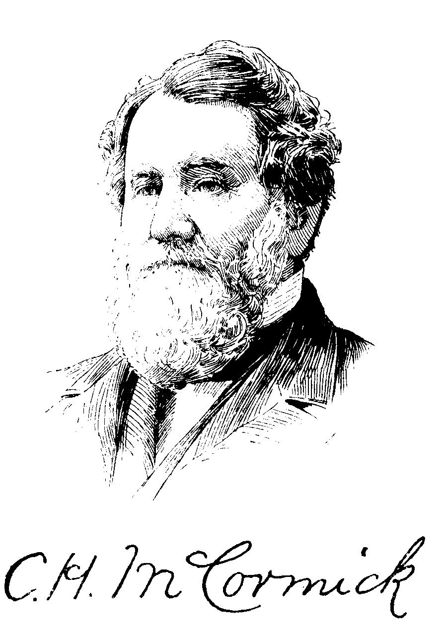 an analysis of the topic of the cyrus mccormick Cyrus mccormick invented modern high-ticket product marketing when he sold his cyrus mccormick revolutionized farming worldwide with the and stock analysis.