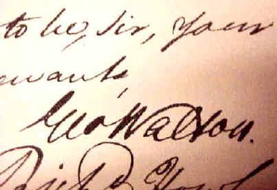 George Walton autograph -  virtualology.com