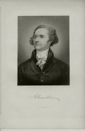 Alexander Hamilton engraving - Stan Klos