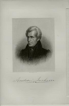 Andrew Jackson Engraving © Stan Klos