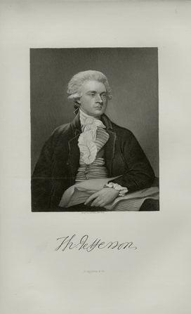 Martha Jefferson Engraving  - � Stan Klos