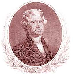 Thomas Jefferson Engraving