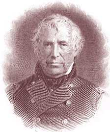 Zachary Taylor Engraving © Stan Klos
