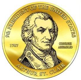 President Arthur St. Clair Campaign Button