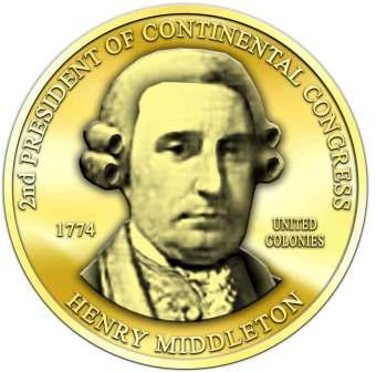 Henry Middleton - President Continental Congress