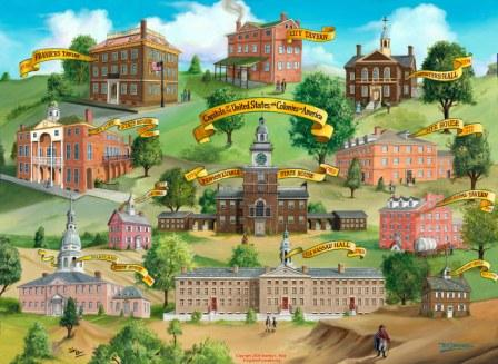 Forgotten U.S. Capitols 1774-1789