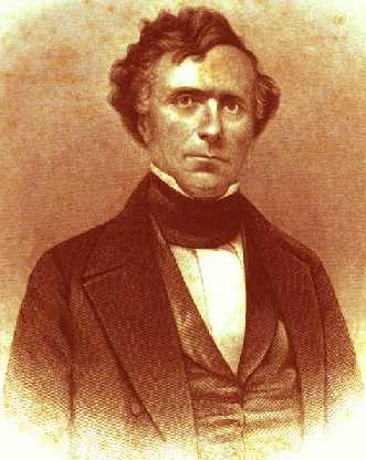 Franklin Pierce engraving - Copyright Stan Klos