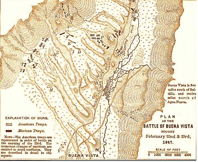 Zachary Taylor Battle of Buena Vista � Stan Klos