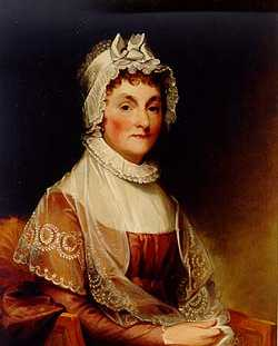 Abigail Smith Adams  of Weymouth