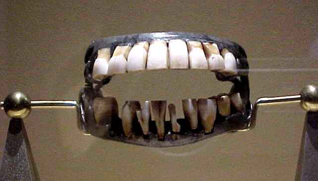 George Washington's Teeth © Stan Klos