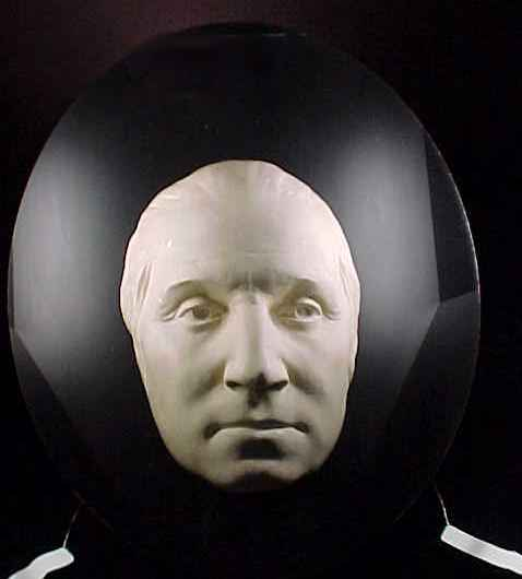 George Washington Life Mask - Copyright Stan Klos