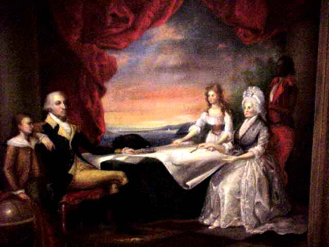 The Washington Family by Edward Savage, 1789-98  © Stan Klos